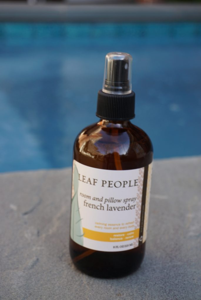 French lavender pillow spray made from Organic ingredients is a natural way to get a good night's sleep